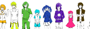 Kagerou Project Render by StrawberryTv