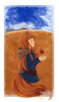 Spice and Wolf by mlee92