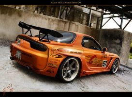 "Mazda ""REX"" Cwings Demo Car by Gurnade"