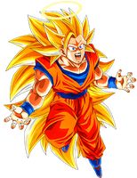 Goku SS3 3 by alexiscabo1
