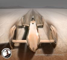 Bullet Car Rendering 2 by tmr5555