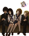 Hyouka Group...vs1 by HaruAkki