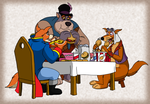 Commission - Lunch Time by BennytheBeast