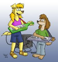 Summer teaching keytar by OctanBearcat