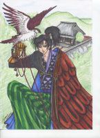 xxxHolic_with Hawk by BlueFrog597