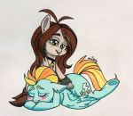 Wing Massage - COMMISH by ameliacostanza
