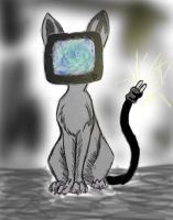 TV CAT by IndifferentSociety