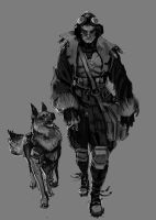 Early Concept - A Pilot and his Dog by musegames