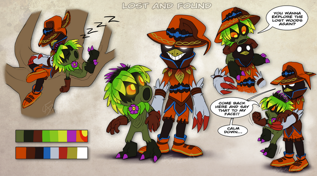 Lost and Found: New Zelda Characters by AbsoluteDream