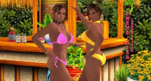 Sheva-Lisa    EBONY-SISTAS by blw7920