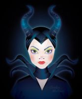 Maleficent by piqdesign