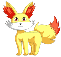 Pokedex #653: Fennekin by izka197