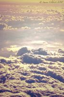 Golden Heaven Clouds by wildfox76
