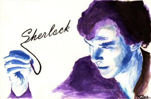 Sherlock - Ink by MeikeZane