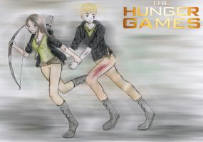 The Hunger Games by fatpear