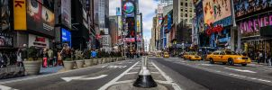 Stitched Time Square by RoyalImageryJax
