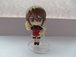 Custom Nendoroid Petite - RE2 - Claire Redfield by Shakahnna