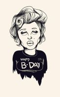 Marilyn B-Day by overkill79