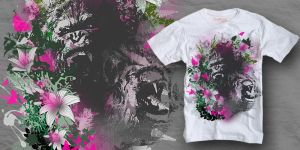 KIngs of the Jungle tee by myargie22