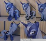 Wet mane Luna with socks by Epicrainbowcrafts