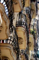 Barcelona Balcony by Footomch