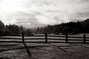 Rural Sunrise II by LoneWolfPhotography