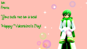 Valentine's Day Shion Series: Nigaito by deadpan-happiness