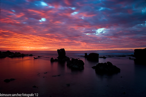 Stunning sunset by lee-sutil