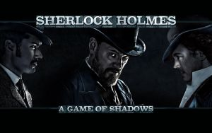 Sherlock Holmes A Game of Shadows Wallpaper 2 by OutlawNinja