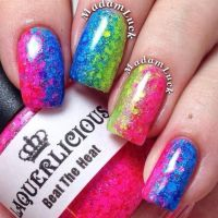 Glitter gradient by MadamLuck