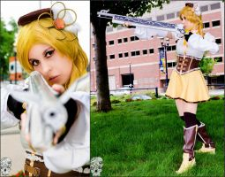 Mami Tomoe Cosplay: To Defend and Prevail by BlackRoseMikage