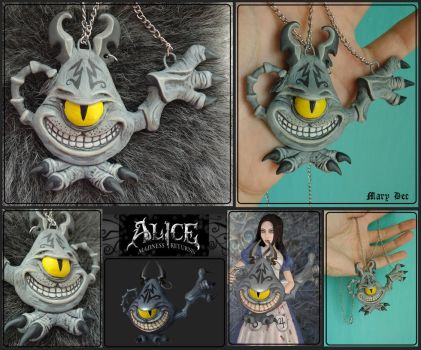 Cheshire teapot - necklaces by MaryDec