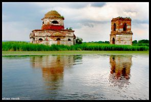 Church on Water by hesitation