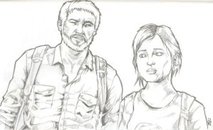 The Last of Us Joel and Ellie - Day 3 by csteoh