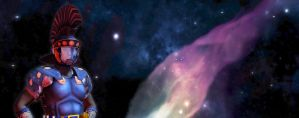 Space Roman Banner by MADMANMIKE