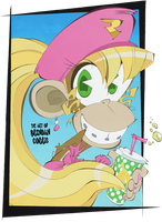 Favorite Nintendo Girls - Dixie Kong by BrendanCorris