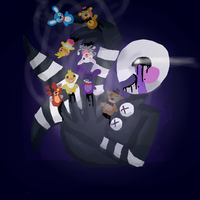 FNAF 2: The Puppeteer by notrueform