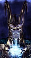 Loki. Frost breath. by jen-and-kris