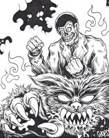 Rabid Panther Unleashed by MonsterInk
