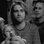 Kurt Cobain 1993 MTV Awards Animation GIF by SasukeTheHotty