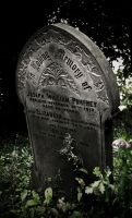 Gothic Grave Scripture by Crutchley29