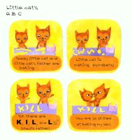 Little cat's A B C by matsurus