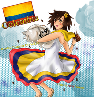 Colombia Character CD by HiyoKinomono