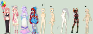 All in This Together || pixel collab [closeded] by NerinSerene