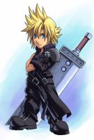 FFAC: Chibi Cloud by Risachantag