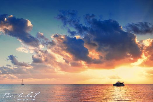 To Sail Beyond the Sunset by IsacGoulart