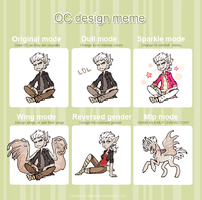 OC Design meme_ William by griffsnuff