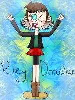 (REQUEST) Riley Donahue [cartoon56] by the01angel