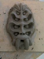 Spiderwitch Face Sculpture 2 by Migarcia