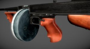 Thompson Model 1928 Final 1 by Furious-Midget